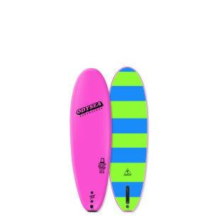 ODYSEA 6'0 - THE PLANK - Pink / Stripes