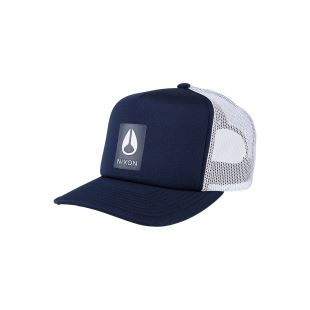 Low Trucker Hat Navy