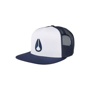 Deep Down Trucker Hat Navy White