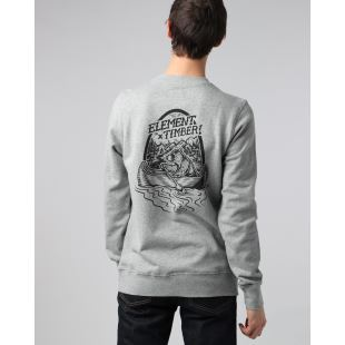 Roar N Row Crew Grey Heather