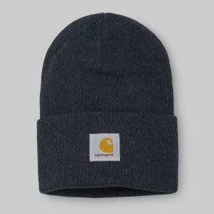 Acrylic Watch Hat Dark Navy Heather