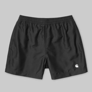Cay Swim Trunk Blk Wht