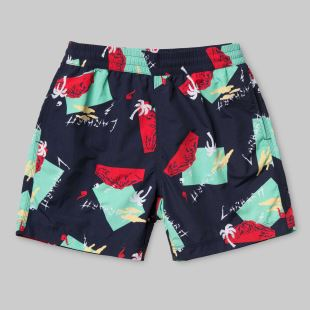 Drift Swim Trunk Anderson Print Sub Blue