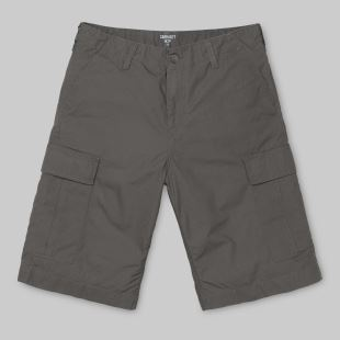 Regular Cargo Short Air Force Grey Rinsed