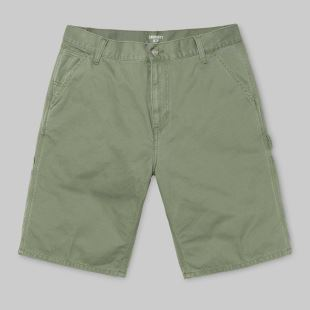 Ruck Single Knee Short Dollar Green Stone Washed