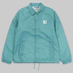 Sport Coach Jacket Soft Teal Wax