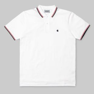 SS Venice Polo White Navy Goji