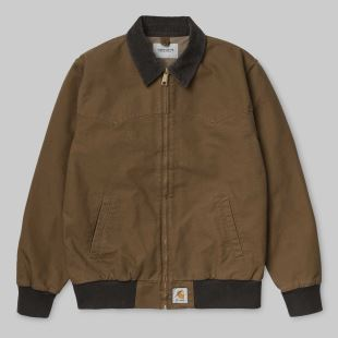 Santa Fe Jacket Hamilton Brown Tobacco Rinsed