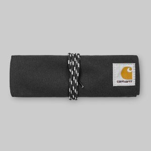 Pencil Roll Case Canvas Black