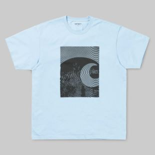SS Circles T shirt Capri Black