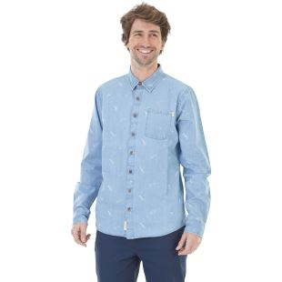 Puako Shirt Washed Denim