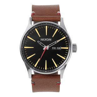 Sentry Leather Black / Brown
