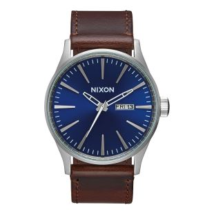 Sentry Leather Leather Blue / Brown