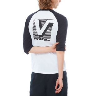 Grand Vans Raglan White Black