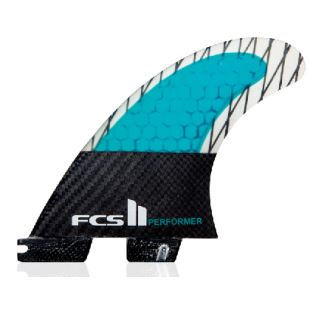 FCS II Performer PC Carbon Small Quad Fin Set