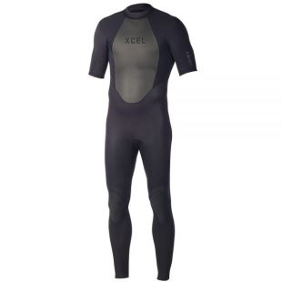 2mm Axis Short Sleeve Wetsuit Black