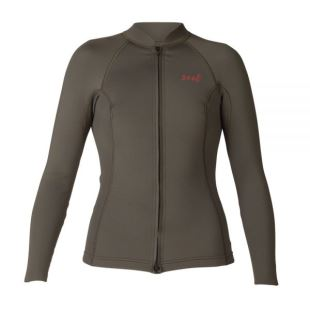2/1 Womens Axis Front Zip Wetsuit Top