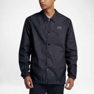 NK SB Shield Jacket Coaches Black