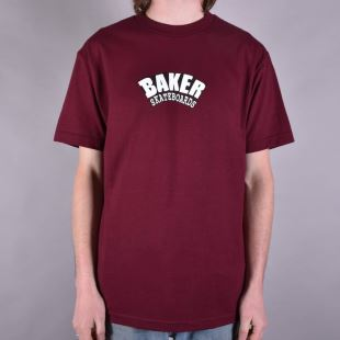 T-shirt Arch Maroon
