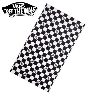 Checkerboard Beach Towel Blk Wht