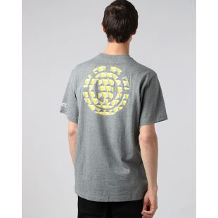 Commit Icon SS Tee Gris Chine