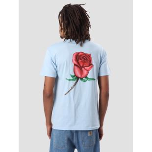 Obey Airbrushed Rose Powder Blue