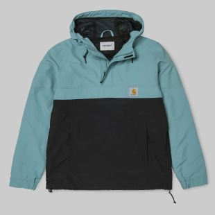 Nimbus Two Tone Pullover Soft Teal Black