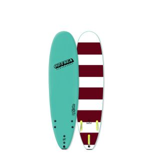 ODYSEA 7'0 - LOG - Turquoise / Stripes