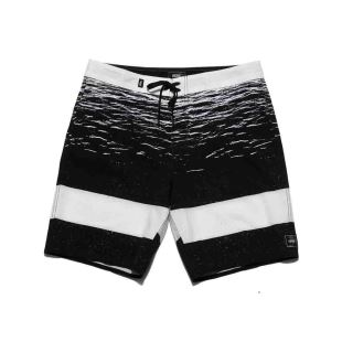 Era Boardshort 18 White Dark