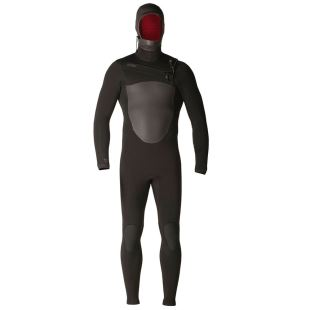 5/4  Drylock Hooded Celliant TDC Wetsuit Black