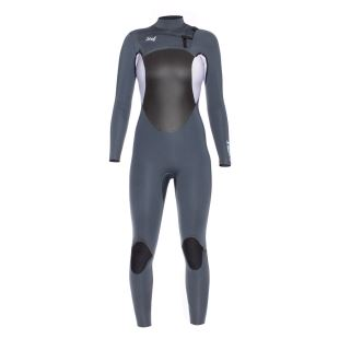5/4mm Womens Axis X Wetsuit Gunmetal