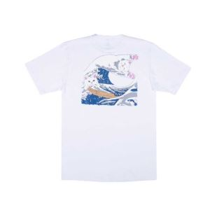 Great Waves Tee White