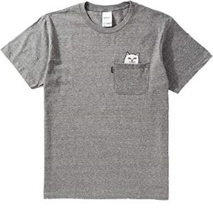 Lord Nermal Pocket Tee Athletic Grey