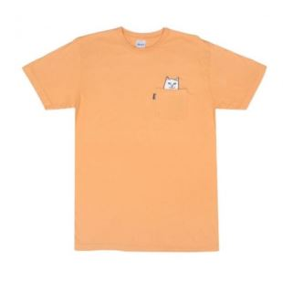 Lord Nermal Pocket Tee Over Dyed Orange