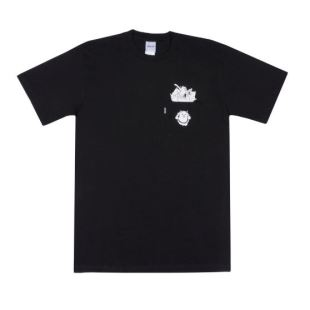 Stuffed Tee Black