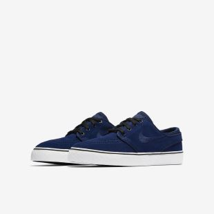 Janoski GS Blue Void Black White