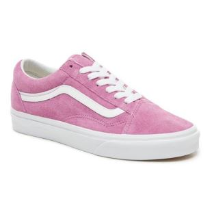 Old Skool Pig Suede Violet True White