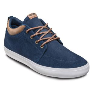 GS Chukka Kids Navy Suede