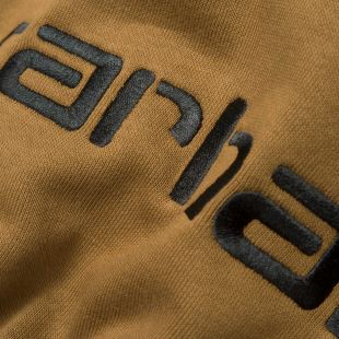 Hooded Carhartt Sweat Hamilton Brown