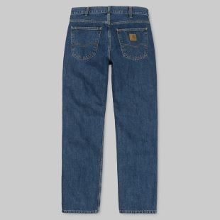 Marlow Pant Blue Dark Stone Washed