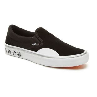 SLIP ON Independent Black White