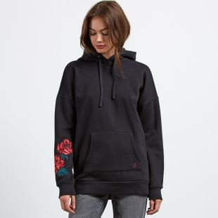 Burned Down Hoody BLK