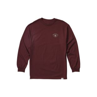 Syndicate LS Tee Burgundy