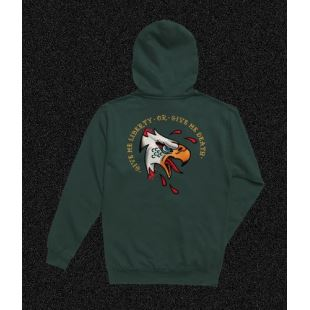 Liberty Pullover Fleece Forest Green