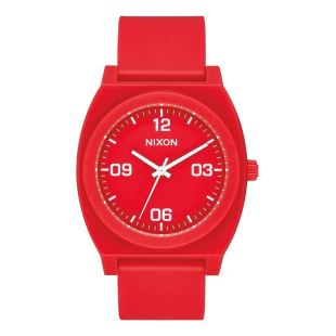 Time Teller P Corp Matte Red White