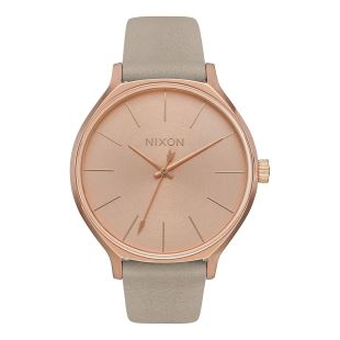 Clique Leather Rose Gold Gray