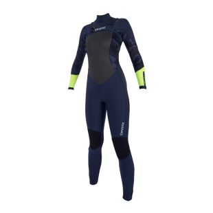 Diva 5/3 mm Fullsuit Double Frontzip 2019 - Navy / Lime
