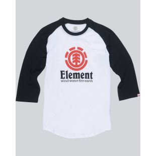 Vertical Raglan Boy Optic White
