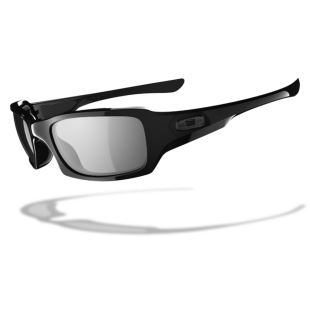 Fives Squared Polished Black /Black Iridium Polarized