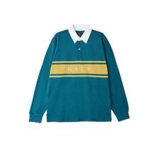 Hero Polo LS Dark Teal